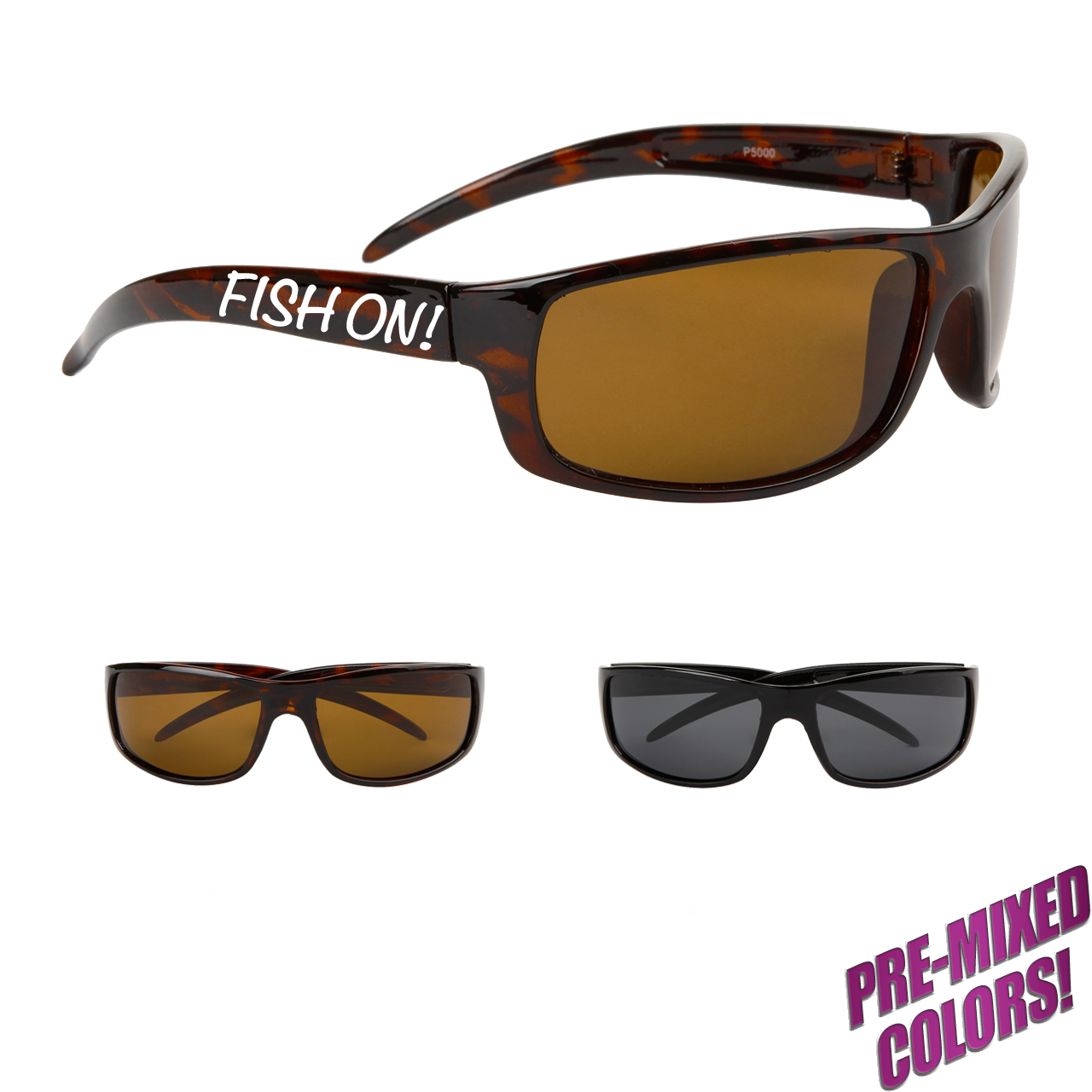 Custom Print Polarized Marlin Sunglasses