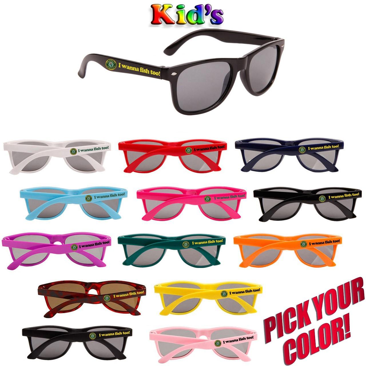 Custom Printed Kid's Classic Sunglasses