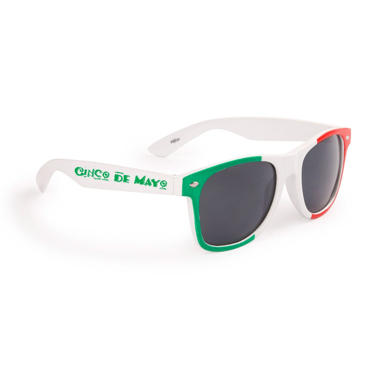 Printed Mexico Flag Sunglasses