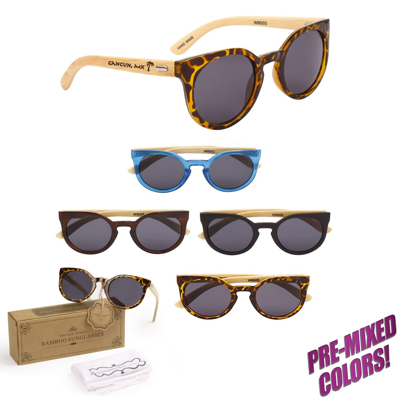Personalized Wooden Sunglasses PW8005
