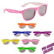 Wholesale Custom Printed Neon Sunglasses
