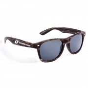 Personalized Wayfarers with Wood Grain Finish