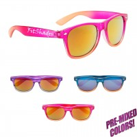 Personalized Mirrored Maui Classic Sunglasses
