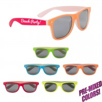 Personalized Neon Sunglasses