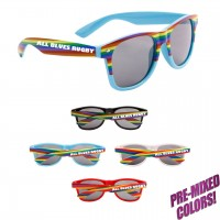 Rainbow Sunglasses Personalized