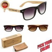 Personalized Wood Sunglasses in Bulk