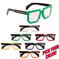 Cheap Imprinted Pixel Glasses