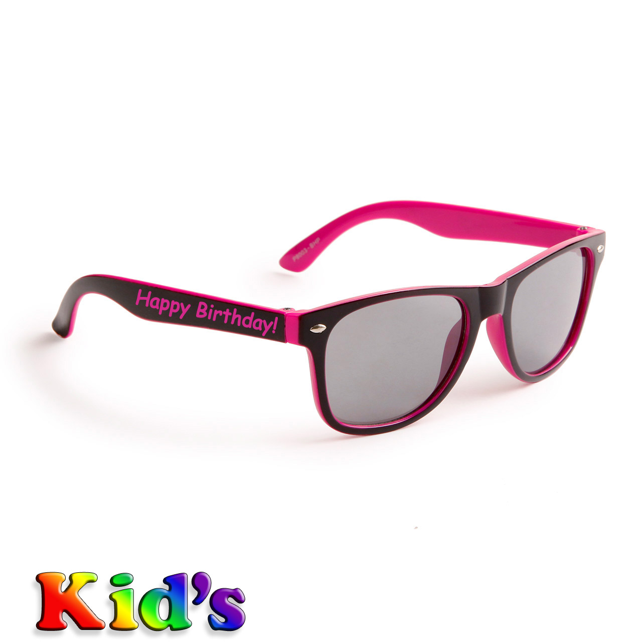Black & Hot Pink