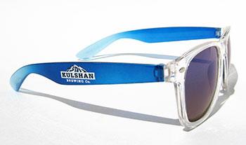 2-Color Logo Sunglasses