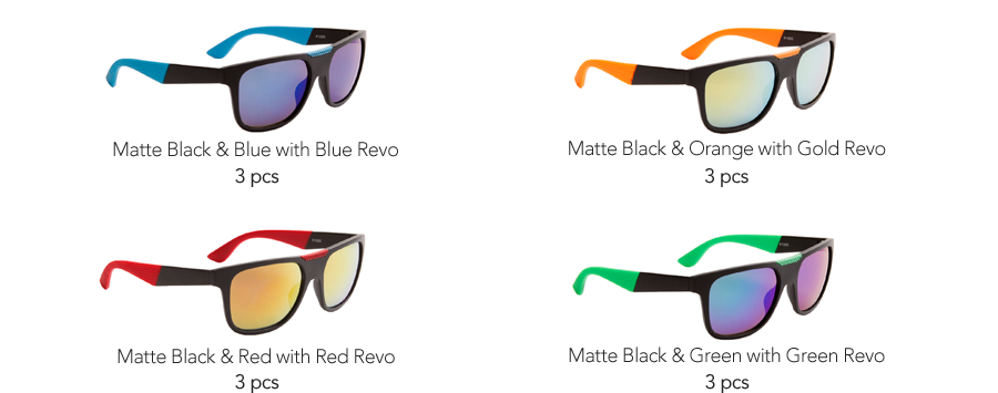 Miami Sunglasses Pre-Mixed Colors
