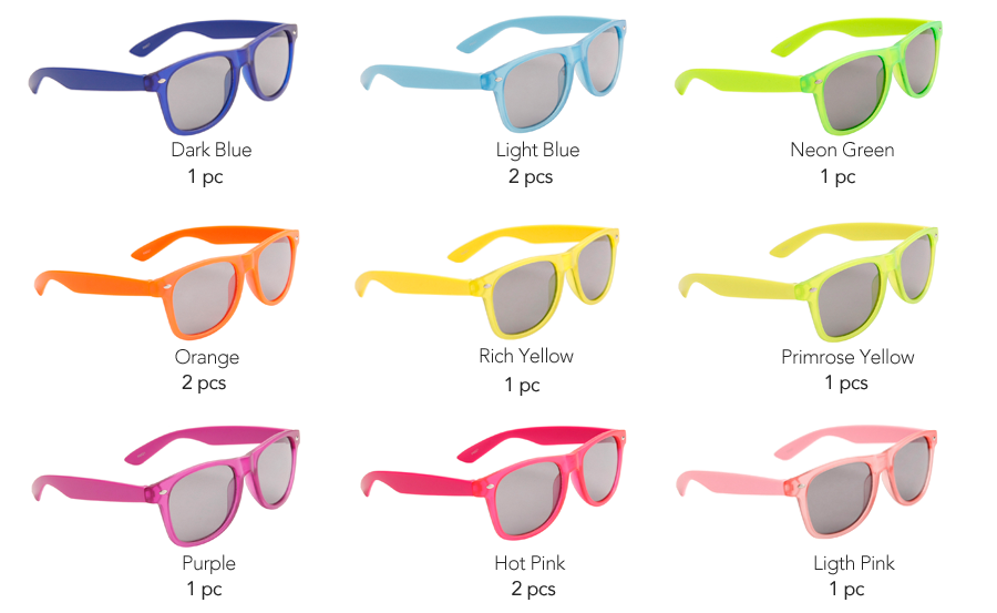 Pre-Mixed P8021 Sunglasses