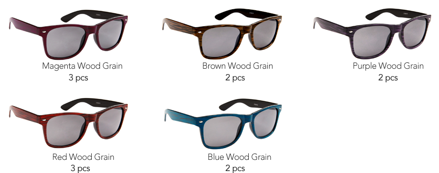 Pre-Mixed P8028 Sunglasses